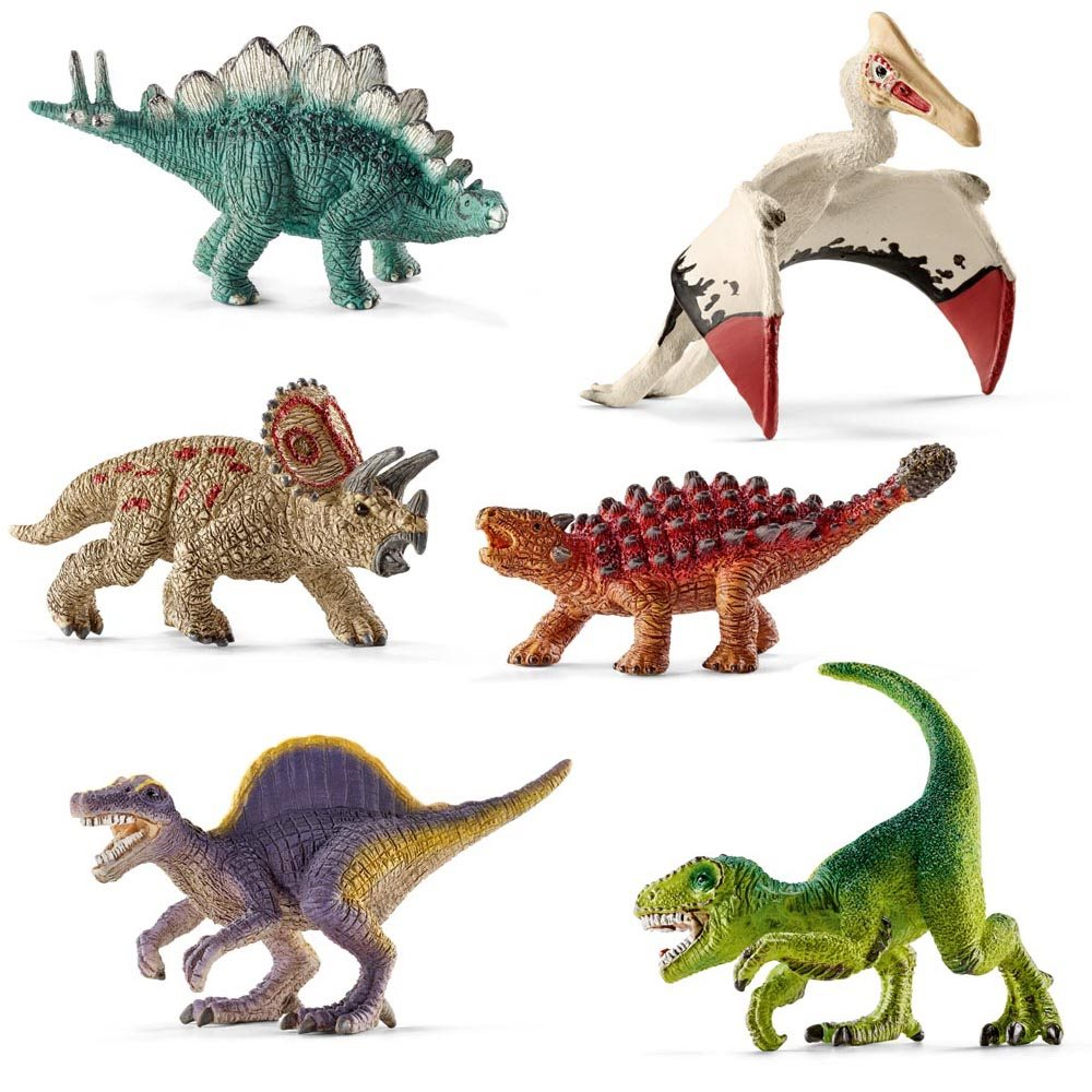 Dinosaurs Toys Collection : Schleich mini dinosaur collection