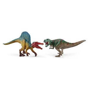 Spinosaurus and T-Rex