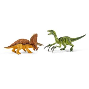Triceratops and Therizinosaurus