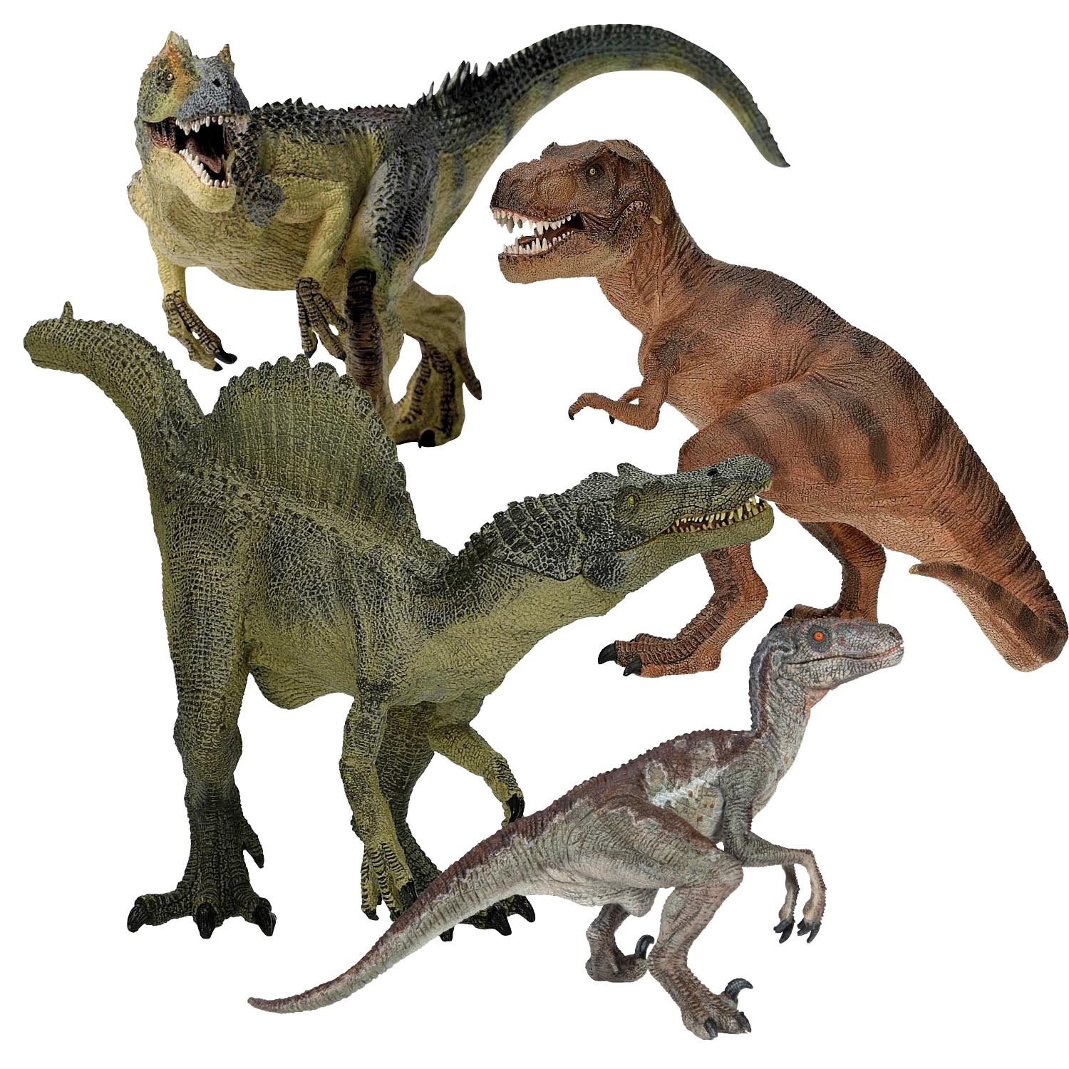 Dinosaurs Toys Collection : Papo carnivore collection