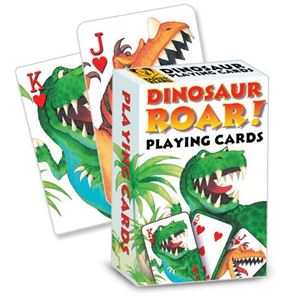 Dinosaur Roar! Playing Cards