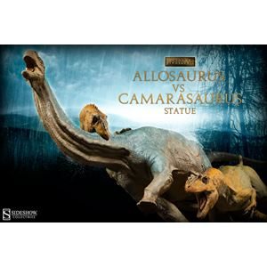 Allosaurus vs Camarasaurus Statue by Sideshow Collectibles