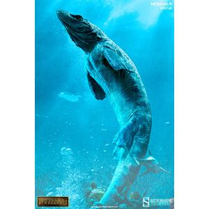 Mosasaurus Statue by Sideshow Collectibles