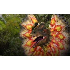 Dilophosaurus with Neck-Frill