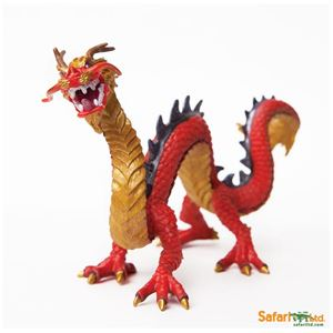 Horned Chinese Dragon