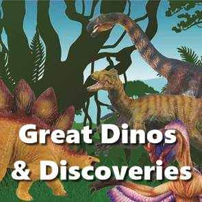 view Great Dinos & Discoveries products