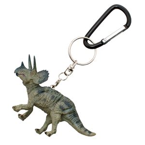 Triceratops Key Ring