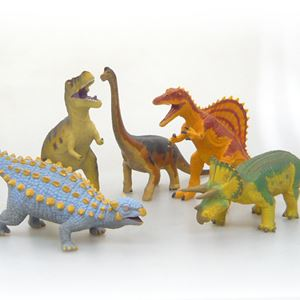 Large Soft Dinosaur - 5 Figure Set