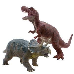Premium Edition Large Soft Dinosaur Toy Set