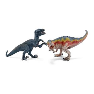 T-Rex and Velociraptor