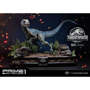 Jurassic World: Fallen Kingdom Statue 1/6 Blue